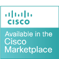 Available on Cisco Marketplace