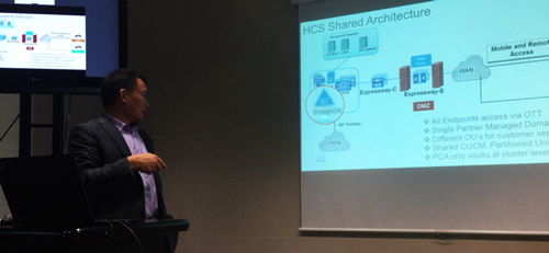 Cisco HCS Shared architecture