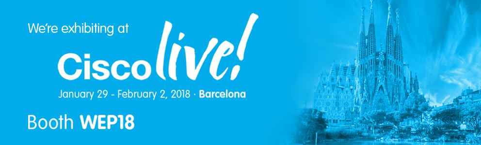 Cisco Live EMEA 2018 Barcelona