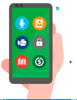 Jabber gadgets mobile