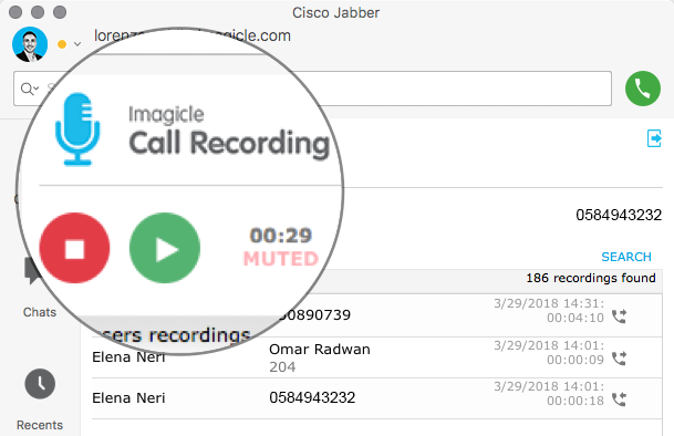 Cisco Call Recording