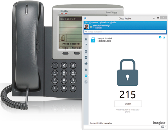 Jabber gadgets - Phone Lock