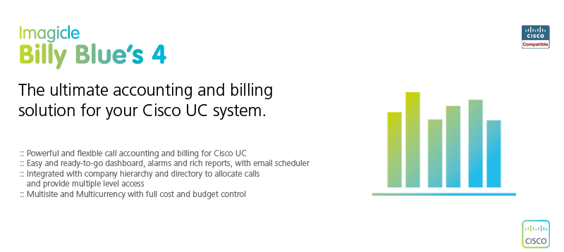 Call accounting and billing for Cisco UC