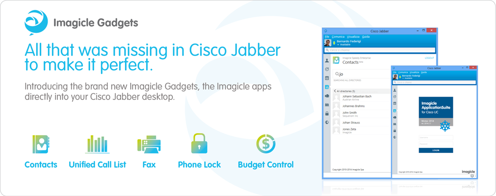 Gadgets for Cisco Jabber